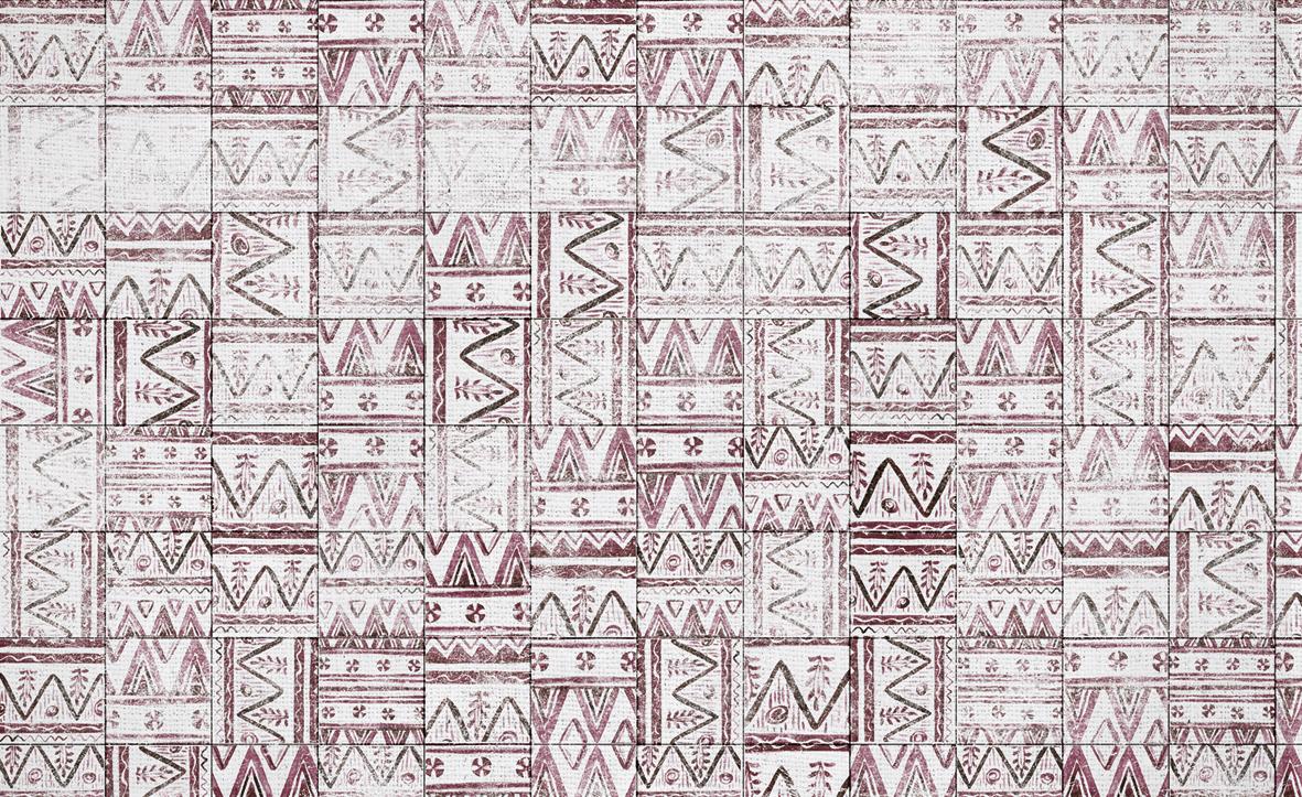 Skinwall dream wallpaper mexican tiles for Progetta la tua planimetria