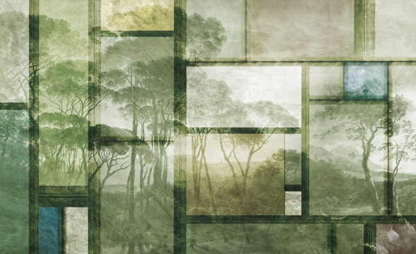 Complete visual of wallpaper 133 Glazed land