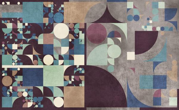 Complete visual of wallpaper 142 Bauhaus