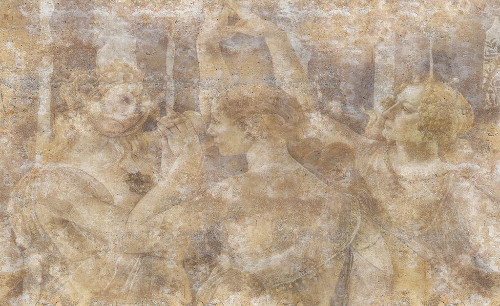 Complete visual of wallpaper 752 Daughters of Zeus